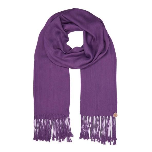 Pashmina Shawl - Soft-Touch - Purple