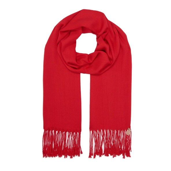 Pashmina Shawl - Soft-Touch - Red