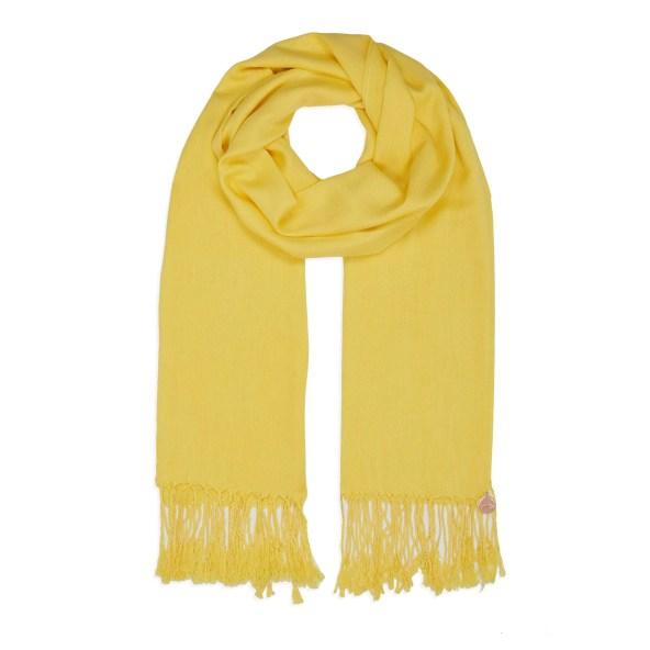 Pashmina Shawl - Soft-Touch - Yellow