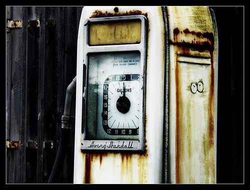 Ullapool Petrol Station III by Iguana Jo