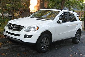 2006-2008 Mercedes-Benz ML350 photographed in USA.