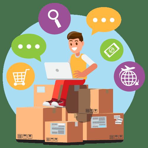 Bestellingen webshop opvolgen