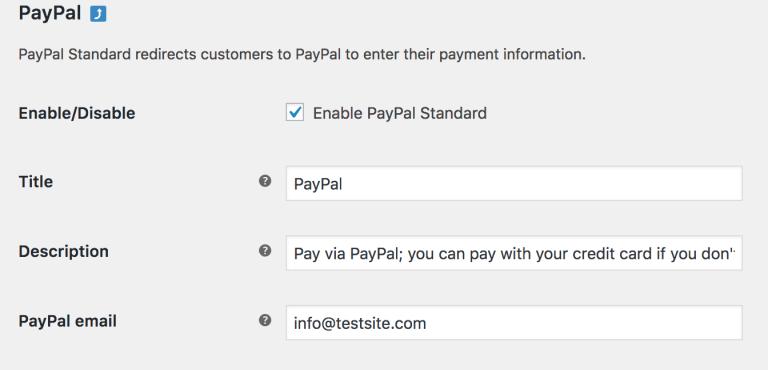 WooCommerce Betaalmogelijkheden-paypal-standard-general