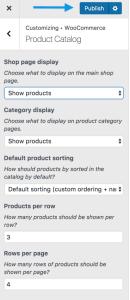woocommerce-customizer-productcatalog-shop-publish
