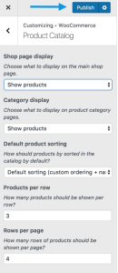 woocommerce-customizer-productcatalog-shop-publish