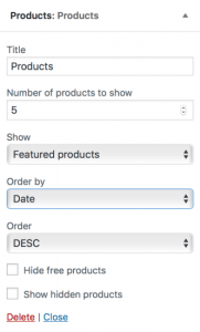 woocommerce-products-widget