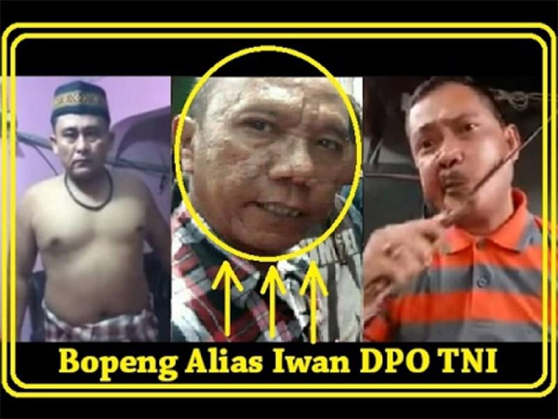 Video Iwan Bopeng: Melontarkan Ucapan Kasar Kepada Tentara Pada Saat Pilgub DKI Jakarta