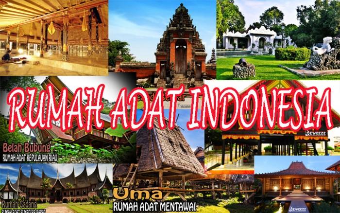 Rumah Adat Di Indonesia Deweezz