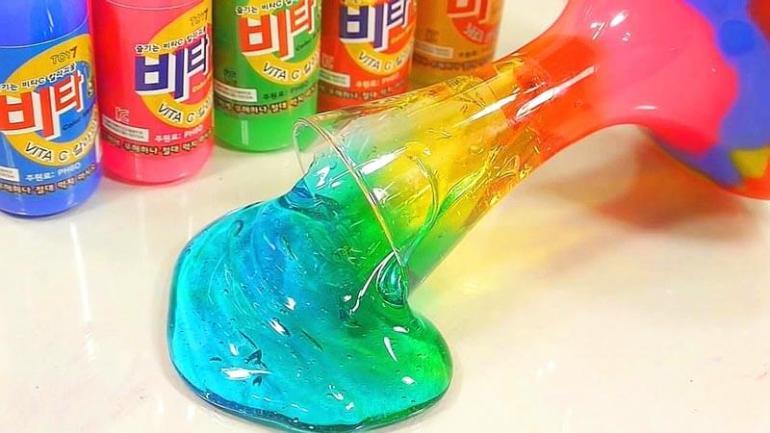 cara membuat slime