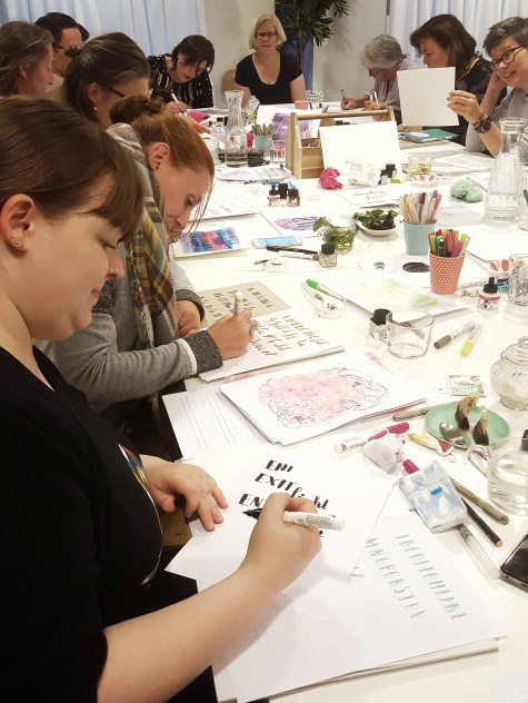 workshop Handlettering Studio Suikerzoet 22