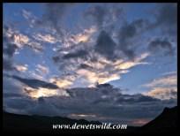 Cloudy Golden Gate Highlands National Park