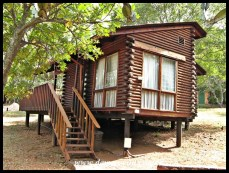 Comfortable log cabin accommodation at Forever Resorts Loskop Dam