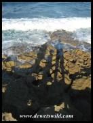 de Wet family shadows at Mission Rocks