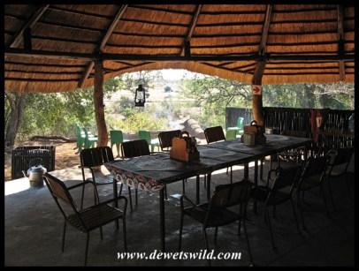 The Sweni dining area