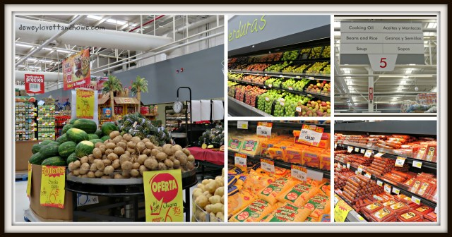 Grocery Collage