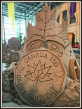 Sand Sculpture at the CNE, Toronto, ON