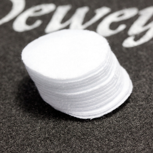 "1-1/2"" Round Patches Bulk - 500/Bag"