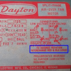 Dayton Capacitor Start Motor Wiring Diagram Itil V3 Rev Fwd  The Home Machinist