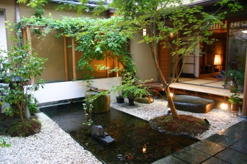20 Desain Taman Mungil Dalam Rumah Minimalis  Dewi Baybas