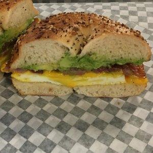 Egg-Sandwich Egg Sandwich