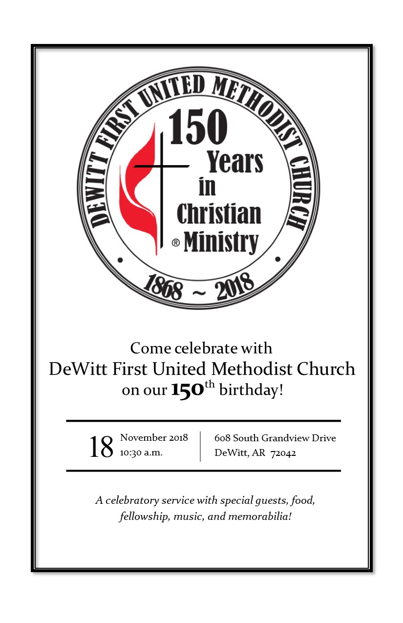 First United Methodist Church Open Hearts — Open Minds