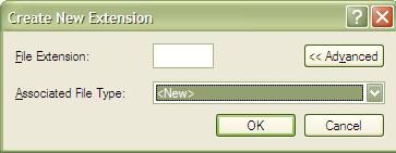 File Options - New