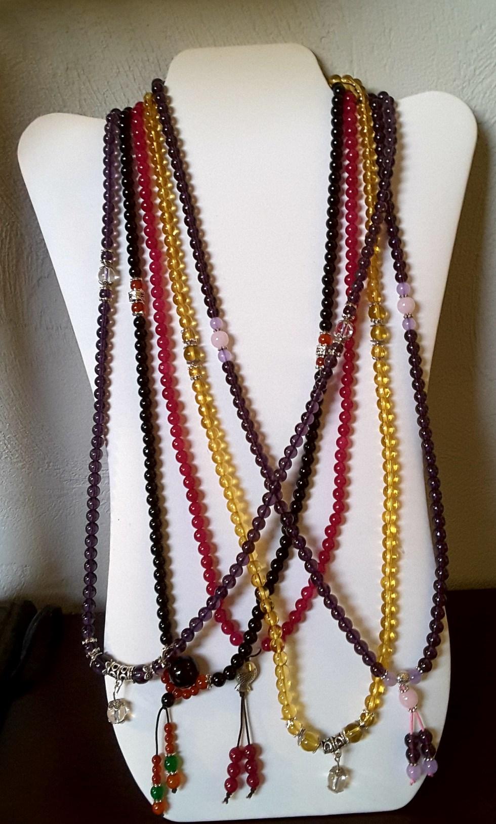 Necklace five Tibet