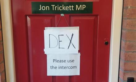 DEX visit Jon Trickett MP