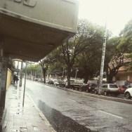 Treze de Maio e a chuva