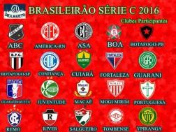 Clubes Participantes Brasileirão Série C 2016 - Dexaketo