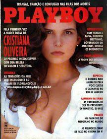 Cristiana Oliveira Playboy Fevereiro 1992