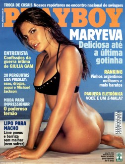 Maryeva Oliveira Playboy Julho 2003