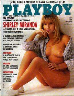 Shirley Miranda Playboy Julho 1992