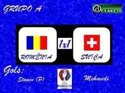 Romenia X Suiça - UEFA EURO 2016 - Dexaketo