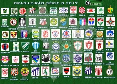 clubes da Série D 2017