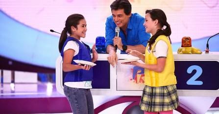 Larissa Manoela e Maísa no Passa ou Repassa
