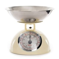 Dexam Retro Kitchen Scales with 2L Stainless Steel Bowl ...