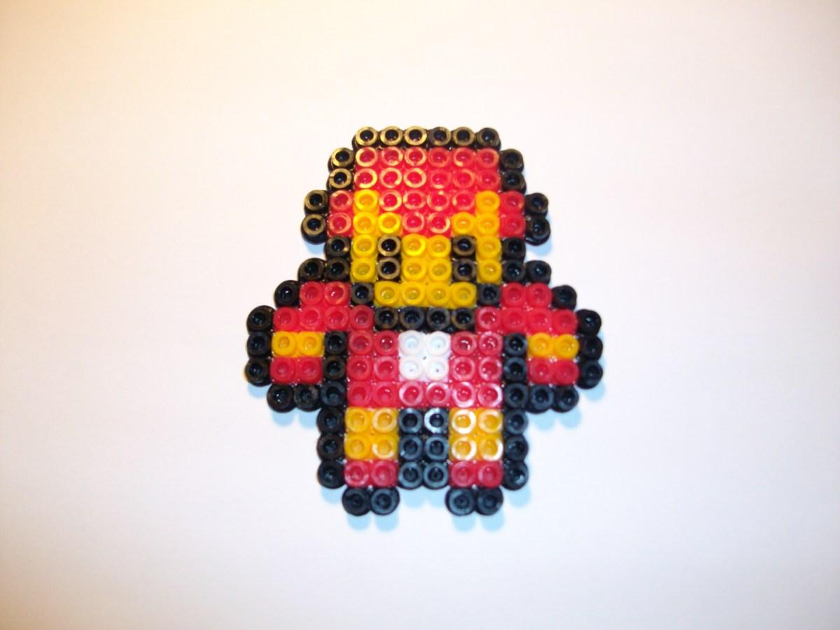 Iron Man  Hama Beads  Dexcosturizate  Pgina web de