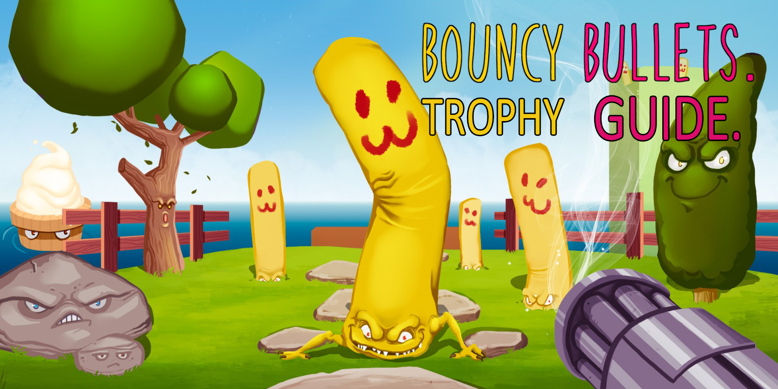 Bouncy Bullets Trophy Guide