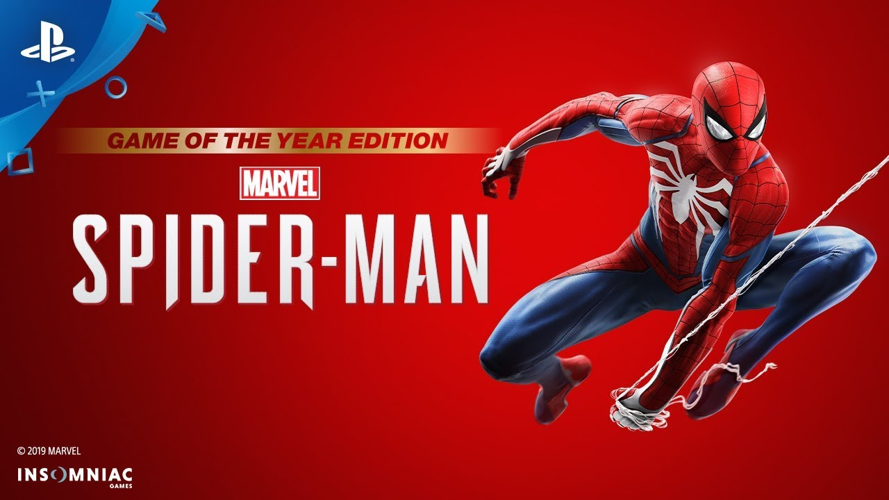 Marvel's Spider-Man Game of the Year edition announcement