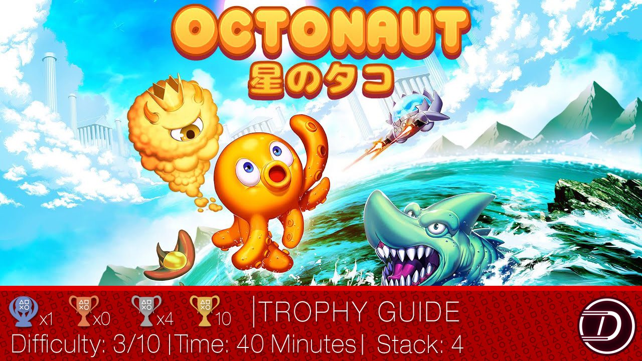 Octonaut Trophy Guide