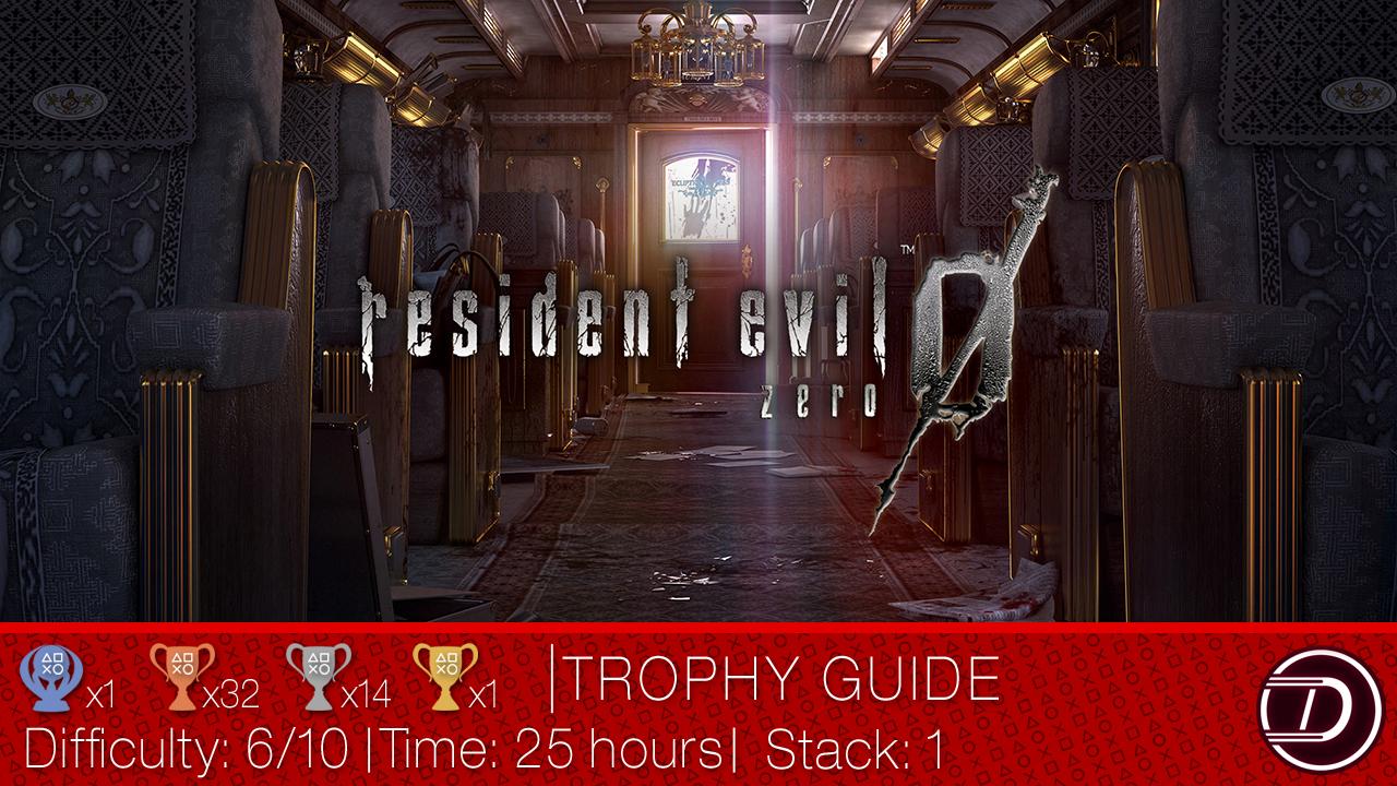 Resident Evil 0 Trophy Guide