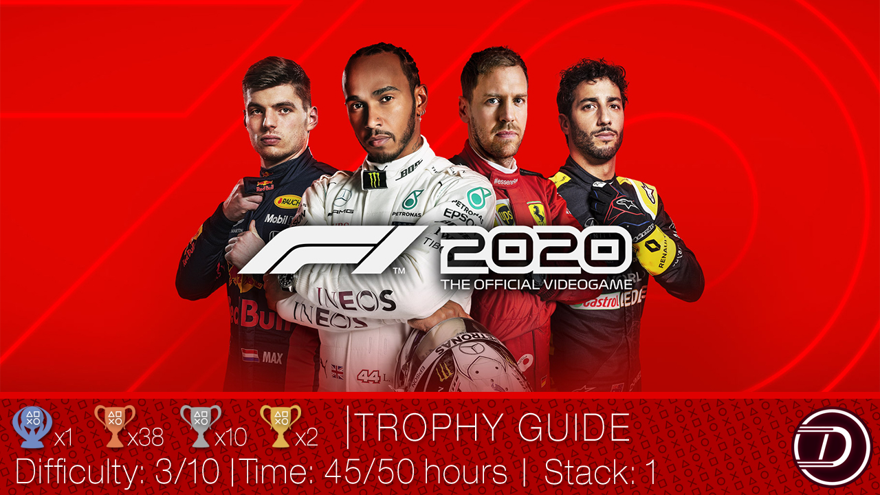 F1® 2020 Trophy Guide