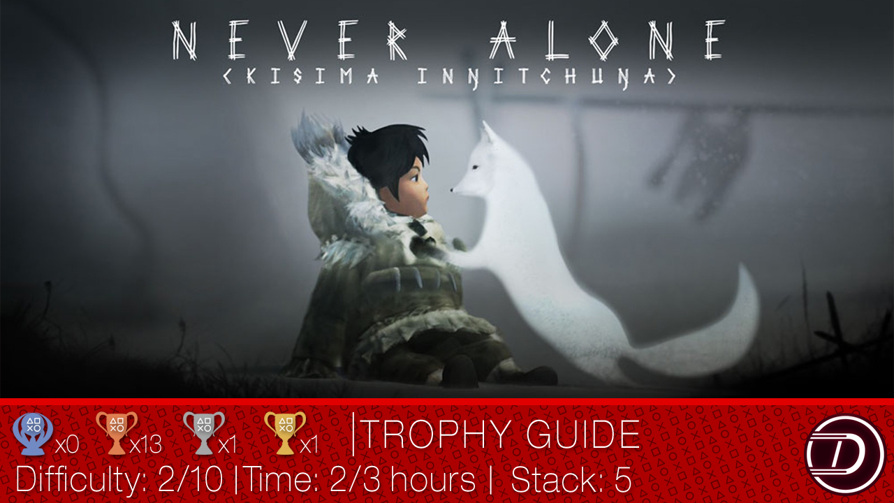 Never Alone Trophy Guide