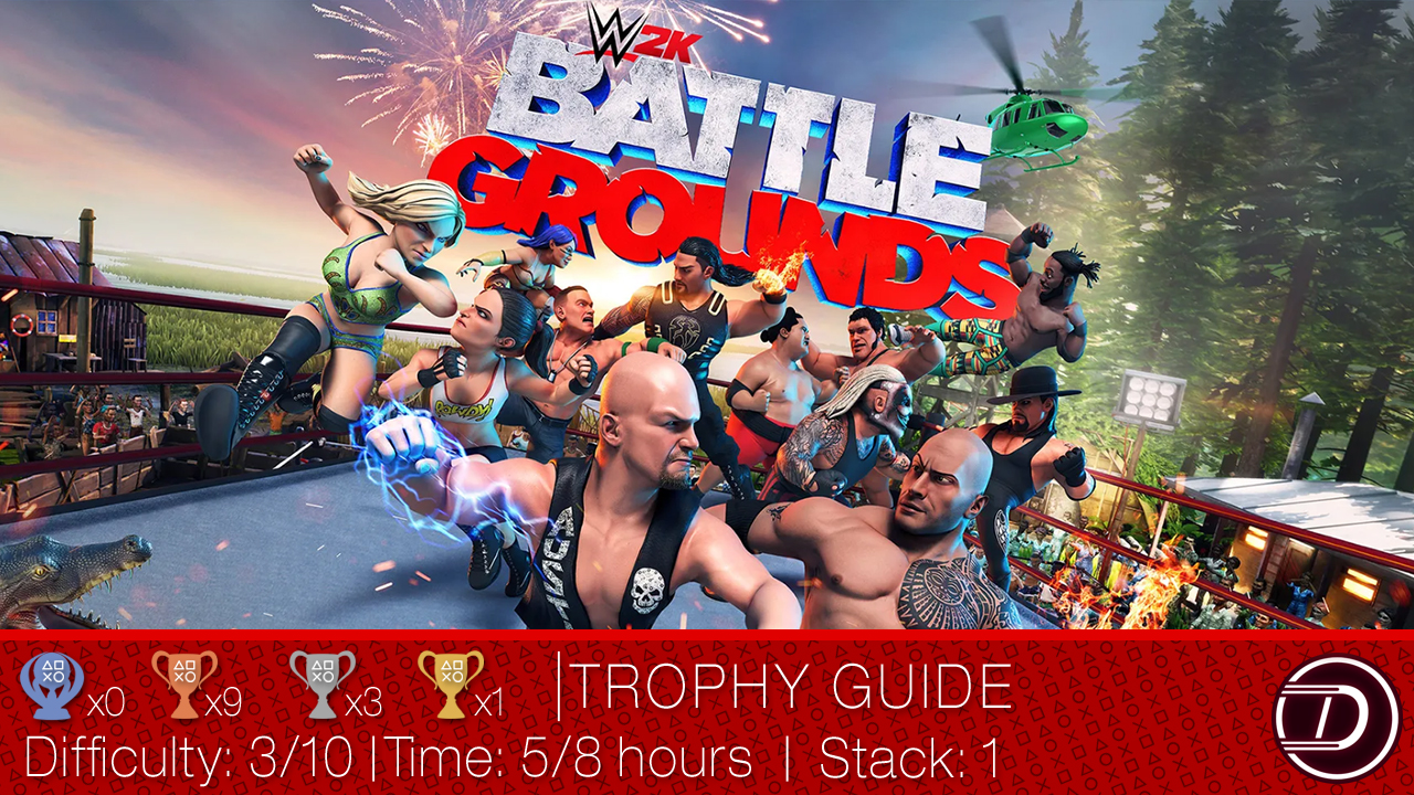 WWE 2K Battlegrounds Trophy Guide