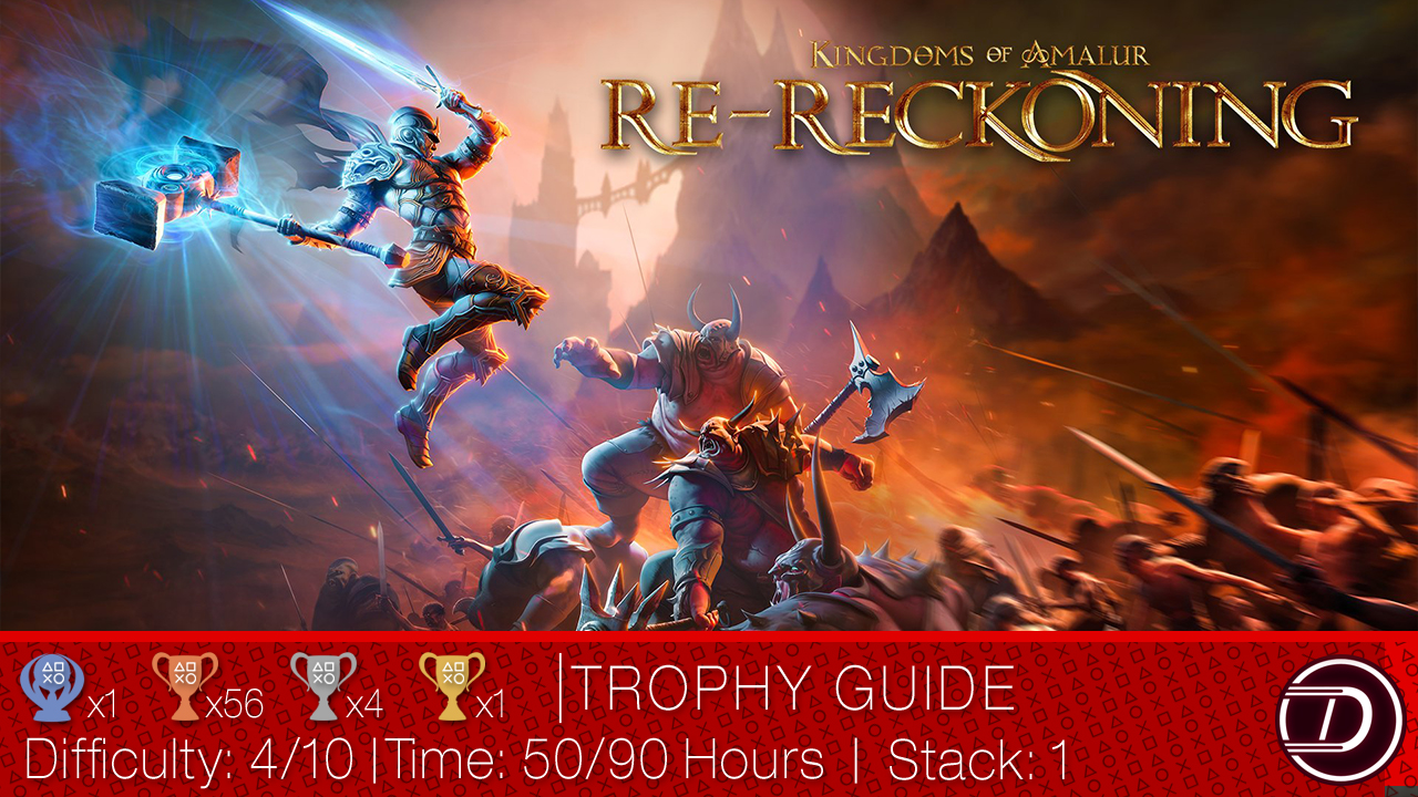 Kingdoms of Amalur: Re-Reckoning Trophy Guide