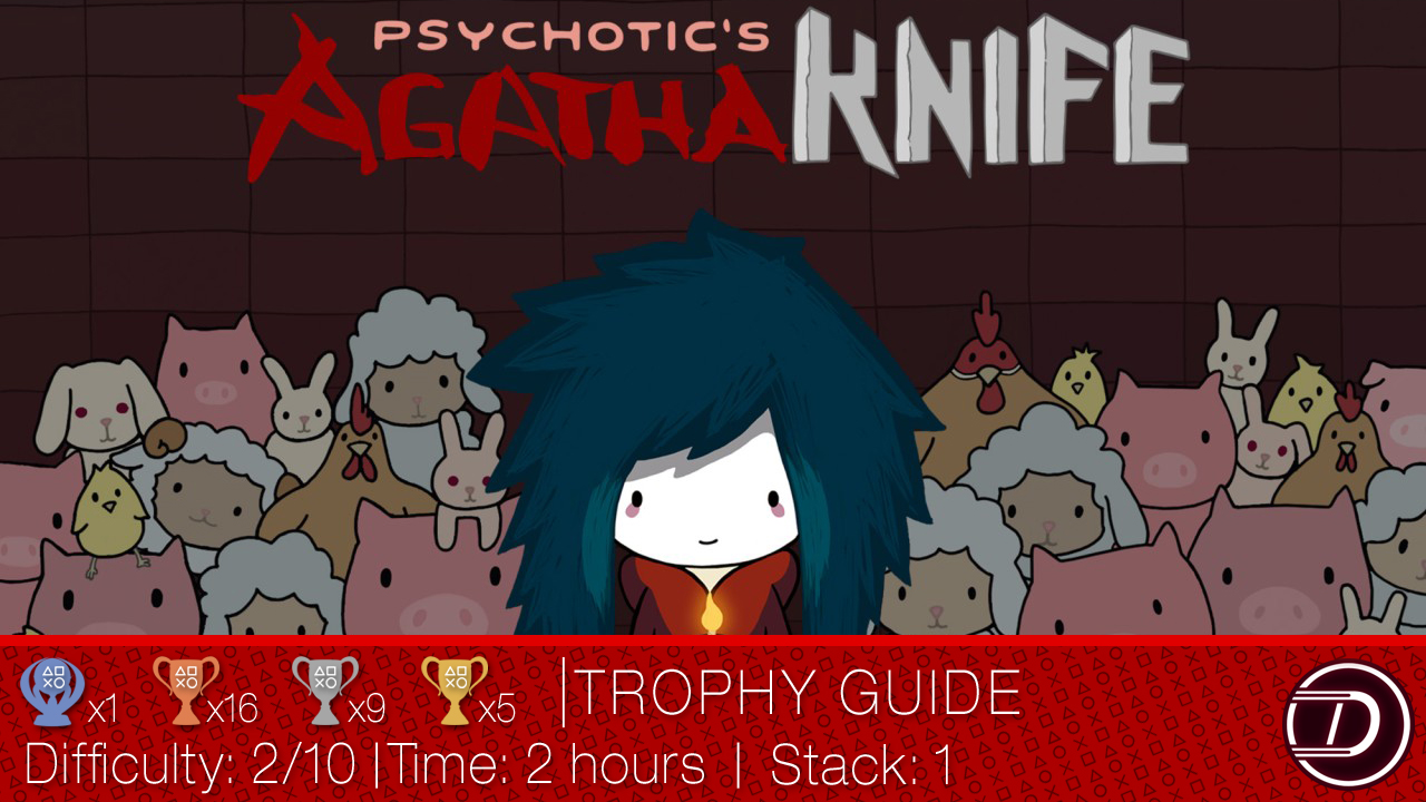 Agatha Knife Trophy Guide and Text Walkthrough