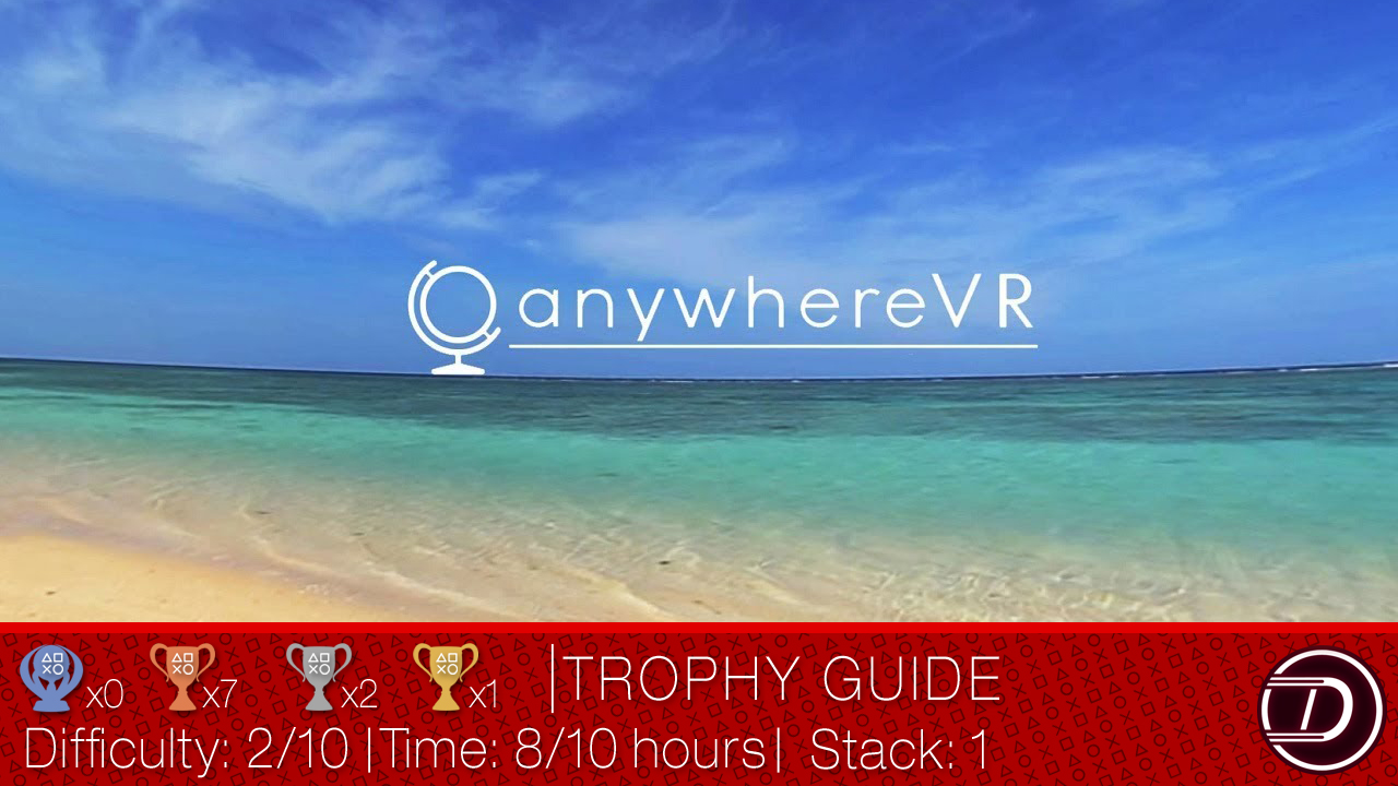 AnywhereVR (JP) Trophy Guide