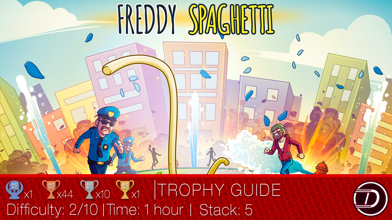 Freddy Spaghetti Trophy Guide