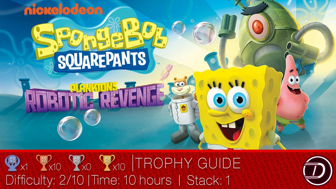 SpongeBob SquarePants: Plankton's Robotic Revenge Trophy Guide